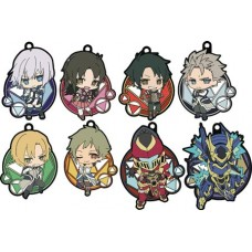 KNIGHTS & MAGIC RUBBER STRAP COLLECTION 8PC DS