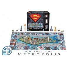 4D MINI SUPERMAN METROPOLIS PUZZLE
