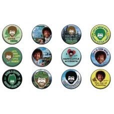 BOB ROSS 1-1/4IN 144 PIECE BUTTON ASST