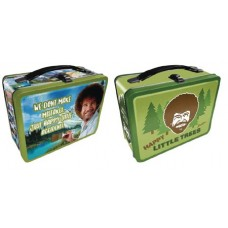 BOB ROSS HAPPY TREES LARGE LUNCH BOX