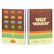 SPACE INVADERS HARD COVER JOURNAL