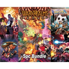 WAR OF REALMS #1 AND TIE IN ISSUES 5PC BUNDLE