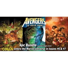 AVENGERS NO ROAD HOME #4 #5 #6 #7 REG COVER 4PC BUNDLE
