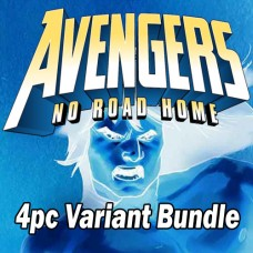 AVENGERS NO ROAD HOME #4 #5 #6 #7 DJURDJEVIC CONNECTING VARIANT 4PC BUNDLE