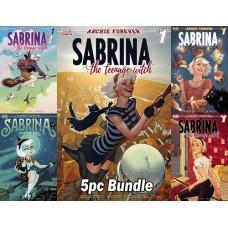 SABRINA TEENAGE WITCH #1 CVR A B C D E 5PC BUNDLE