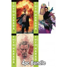 LIFE & DEATH OF TOYO HARADA #1 CVR A B C D 4PC BUNDLE