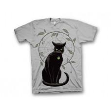 BLACK MAGICK HAWTHORNE CAT T/S LG