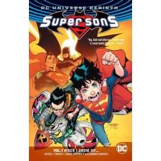 SUPER SONS TP VOL 01 WHEN I GROW UP (REBIRTH)