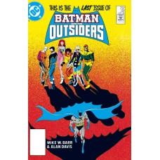 BATMAN & THE OUTSIDERS HC VOL 03