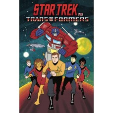 STAR TREK VS TRANSFORMERS TP