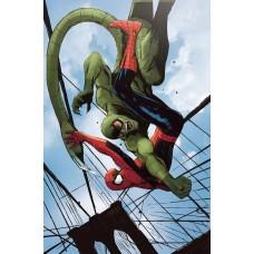 AVENGERS #17 GARBETT SPIDER-MAN VILLAINS VARIANT