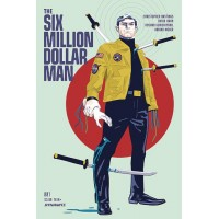SIX MILLION DOLLAR MAN #1 CVR A WALSH