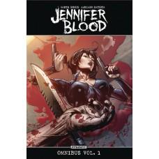 JENNIFER BLOOD OMNIBUS TP VOL 01 (MR)