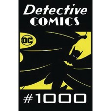 DF DETECTIVE COMICS #1000 GOLD SGN TOMASI