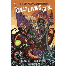 ONLY LIVING GIRL HC VOL 01 ISLAND AT EDGE OF INFINITY