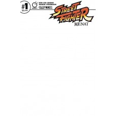 STREET FIGHTER MENAT #1 CVR C BLANK SKETCH