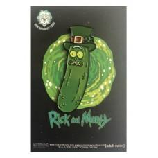 RICK AND MORTY ST PATRICKS PICKLE RICK PIN
