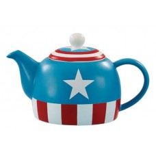 MARVEL I AM CAPTAIN AMERICA TEAPOT