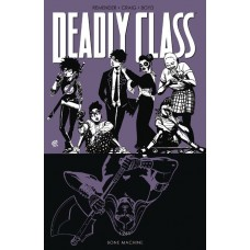 DEADLY CLASS TP VOL 09 BONE MACHINE (MR)