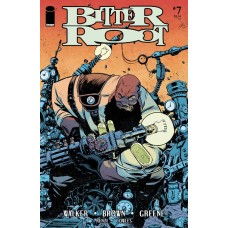 BITTER ROOT #7 CVR A GREENE (MR)