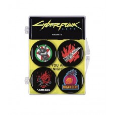 CYBERPUNK 2077 MAGNET 4 PACK SET