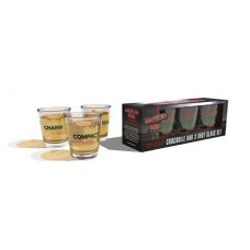 AMERICAN GODS CROCODILE BAR SHOT GLASS SET