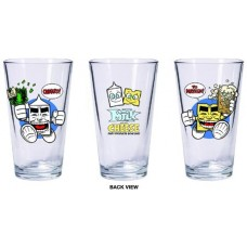 MILK CHEESE BOXED PINT GLASS SET