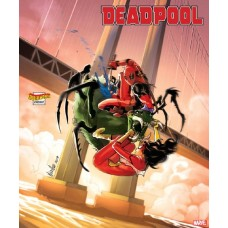 DEADPOOL #5 ANDOLFO SPIDER-WOMAN VAR