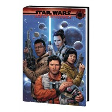 STAR WARS AGE OF RESISTANCE HC