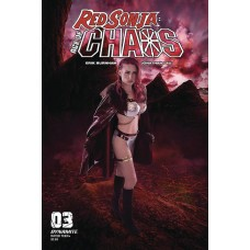 RED SONJA AGE OF CHAOS #3 CVR E KINGSTON COSPLAY