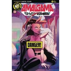 AMALGAMA SPACE ZOMBIE #6 CVR B YOUNG RISQUE (MR)