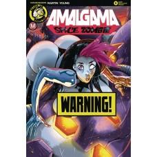 AMALGAMA SPACE ZOMBIE #6 CVR D RUDETOONS REYNOLDS RISQUE (MR