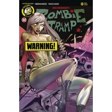 ZOMBIE TRAMP ONGOING #70 CVR F CELOR RISQUE (MR)