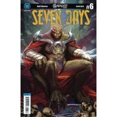 CATALYST PRIME SEVEN DAYS #6 (OF 7) CVR A SEJIC