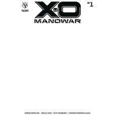 X-O MANOWAR (2020) #1 CVR E BLANK VAR