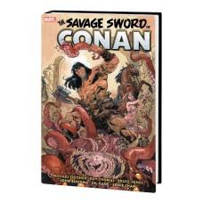 SAVAGE SWORD CONAN ORIG MARVEL YRS OMNIBUS HC VOL 05 ASRAR C
