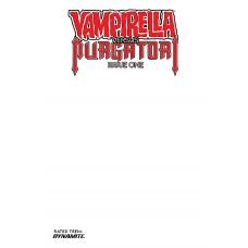 VAMPIRELLA VS PURGATORI #1 CVR F BLANK AUTHENTIX