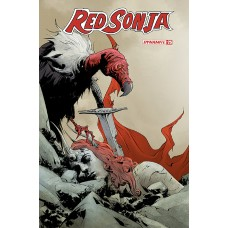 RED SONJA #25 CVR A LEE