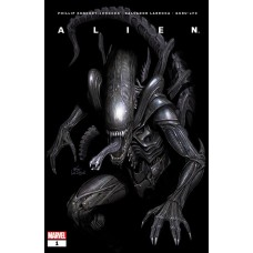 DF ALIEN #1 JOHNSON SGN