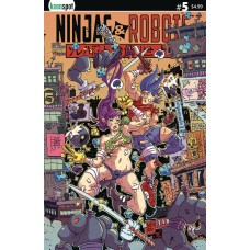 NINJAS & ROBOTS #5 CVR A ERIK KLAUS