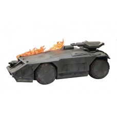 ALIENS BURNING ARMORED PERSONNEL CARRIER PX 1/18 SCALE VEH