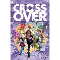 CROSSOVER #4 2ND PRINT