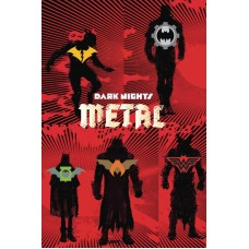 DC DARK NIGHTS METAL ONE SHOTS SET