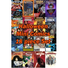 HALLOWEEN HCF 2017 MINI COMIC BOOK SET