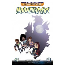 HALLOWEEN HCF 2017 MOONLIGHTERS MINI COMIC EVENT BUNDLE