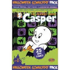 HALLOWEEN HCF 2017 CASPER THE FRIENDLY GHOST MINI COMIC POLYPACK