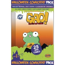HALLOWEEN HCF 2017 GAO MINI COMIC POLYPACK