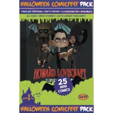 HALLOWEEN HCF 2017 LOVECRAFT UNDERSEA KINGDOM MINI COMIC POLYPACK (Net