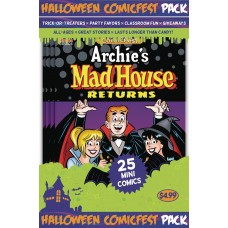 HALLOWEEN HCF 2017 ARCHIES MADHOUSE MINI COMIC POLYPACK