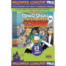 HALLOWEEN HCF 2017 DONALD DUCK HALLOWEEN SCREAM #2 MINI POLYPACK